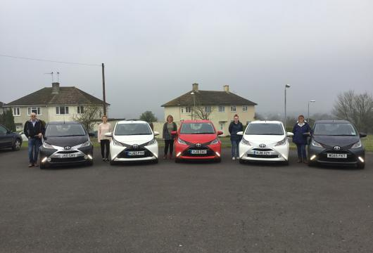Verbinnen Family with Toyota AYGOs